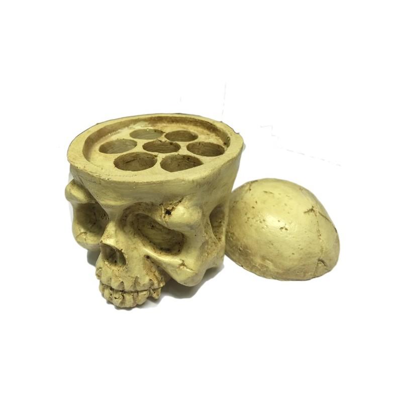 Caps of pigments holder (Skull)