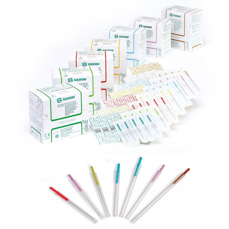 Seirin® J-Type acupuncture needles