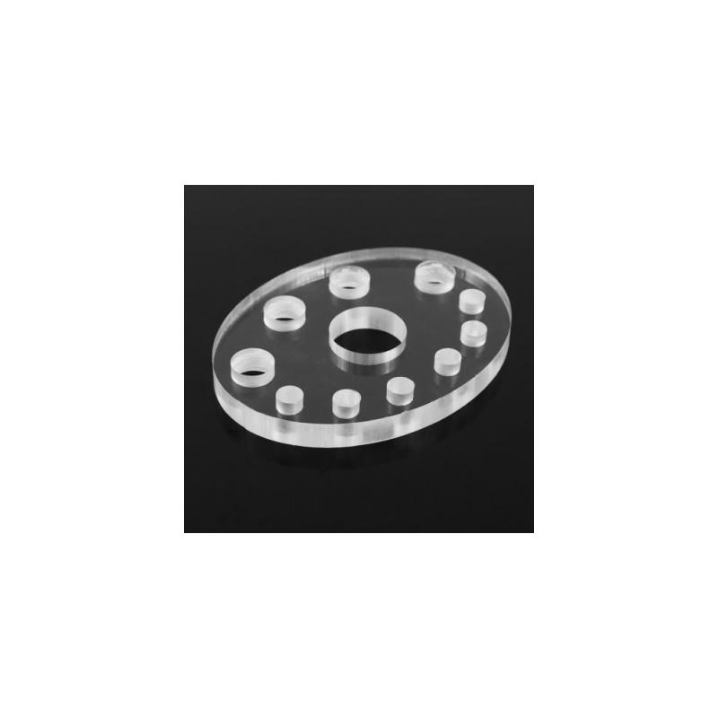 Acrylic pigment caps holder Nr.16 (11 holes)