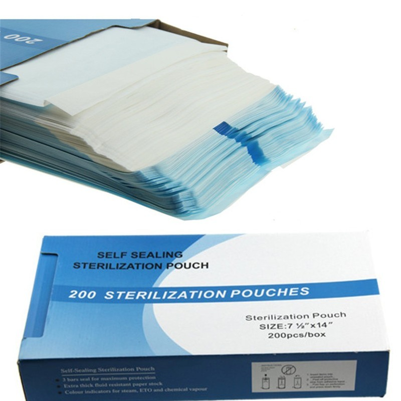 Self sealing sterilization pouch (200pcs.)