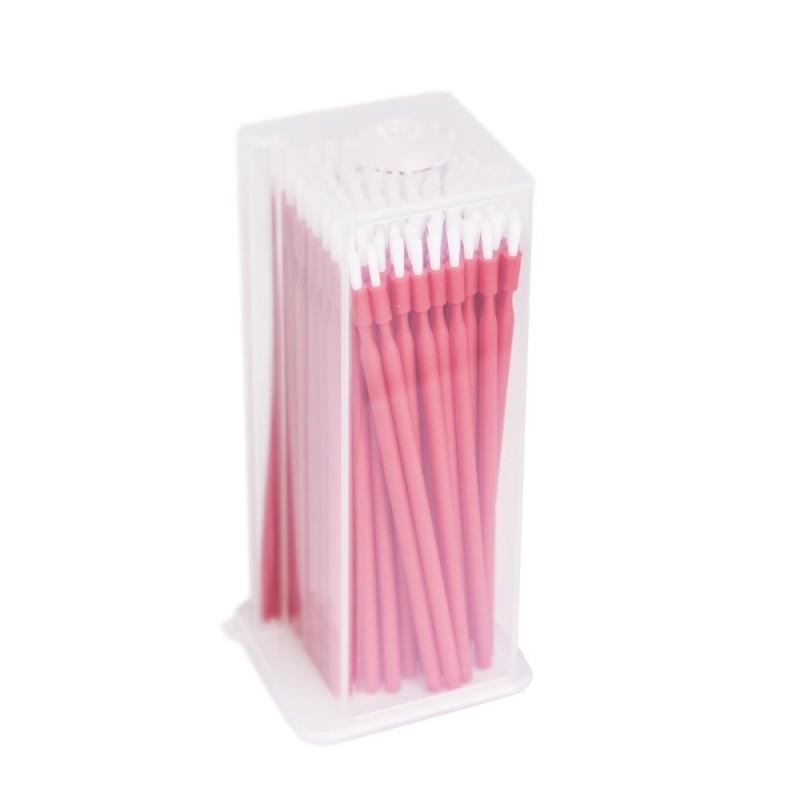 UNIGLOVES Brushes (Red; Medium; 100 pcs.)
