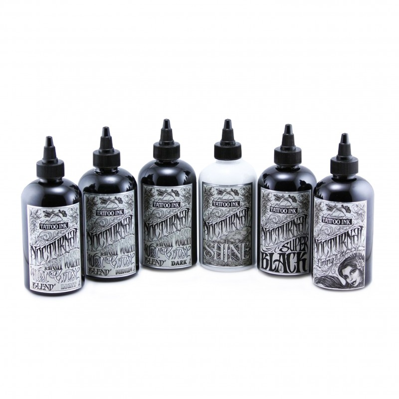 Nocturnal Ink 30 ml. - Full Set of 6 Bottles