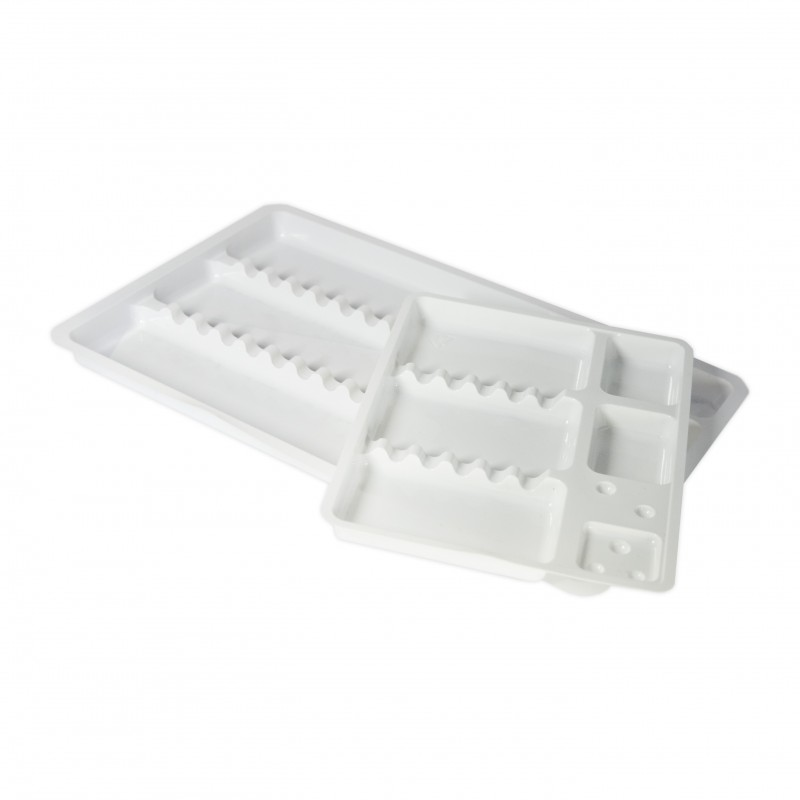 Disposable instrument trays (19,5 x 30 cm / 15 x 19,5 cm) 50 pcs.