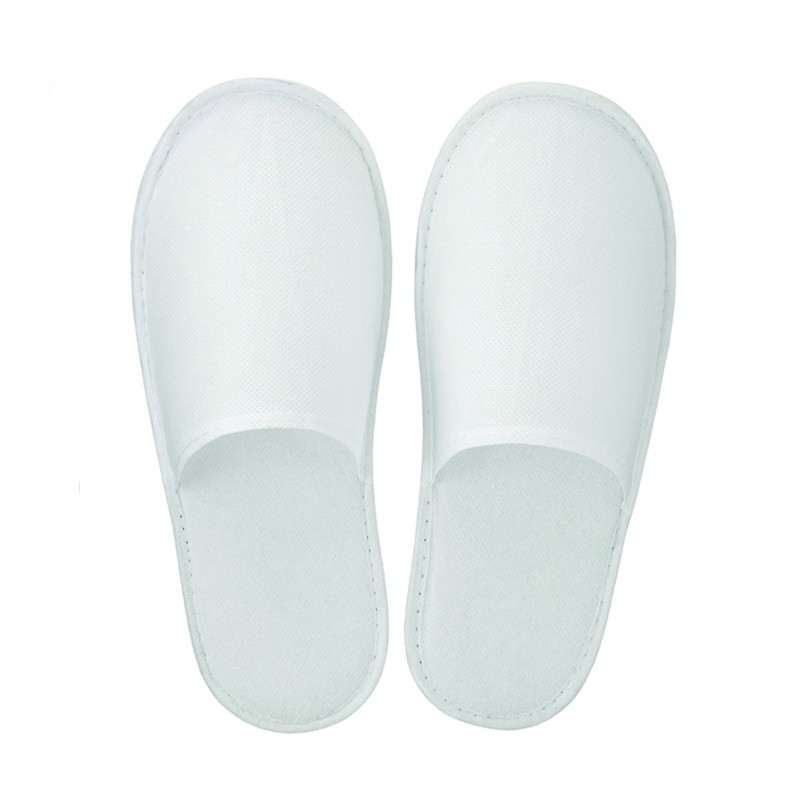 Disposable Non-woven Slippers (closed toe / 1 pair)