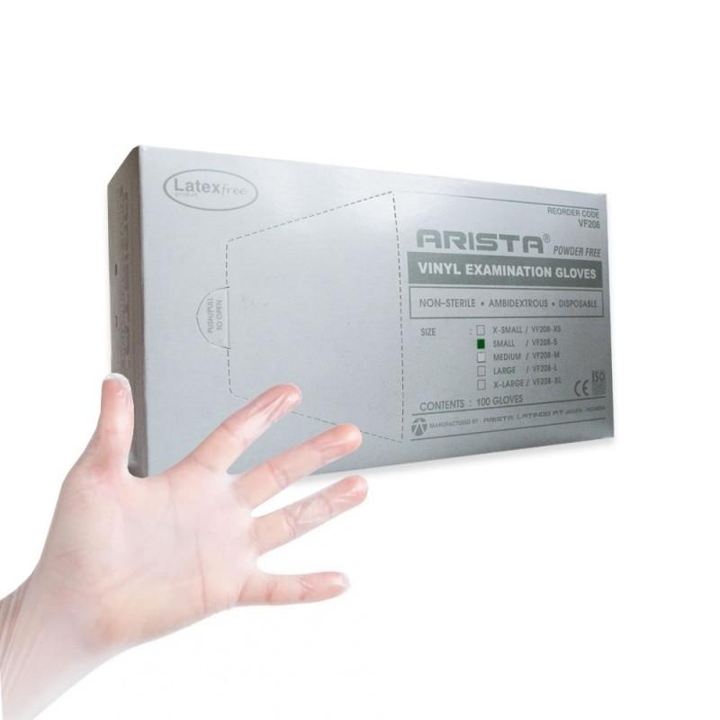 Vinyl examination gloves (S) 50 pairs