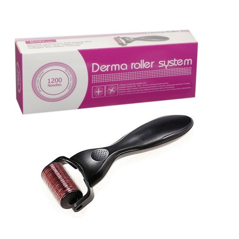 Micro Derma Roller 1200 Needle Black (2.0mm)