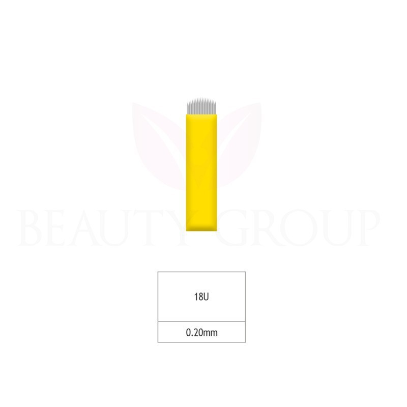 Biomaser Microblading 18 U needle (Sharp- 0,20mm) 1 pcs.