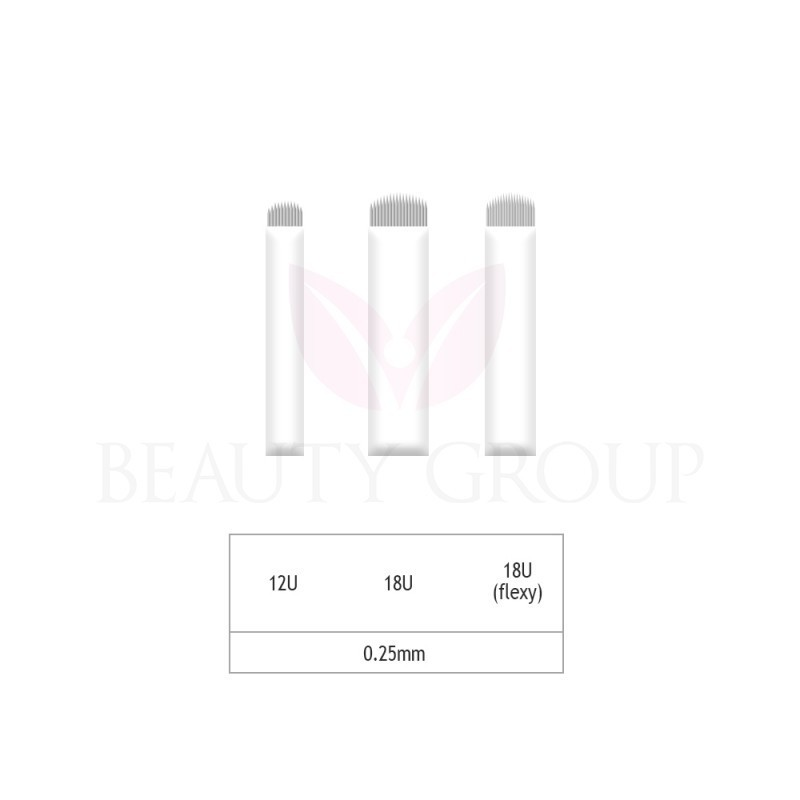 Microblading 12-18 U needle- 0,25mm (1pcs.)