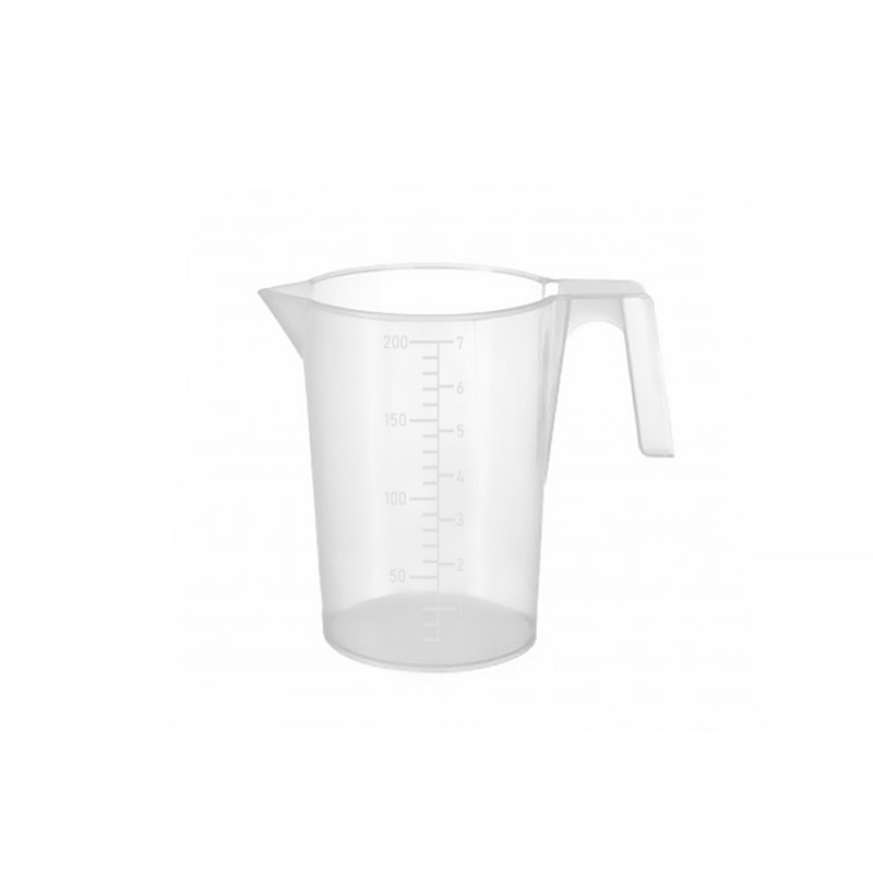 Measuring cup with scale 0,2l. (1pcs)