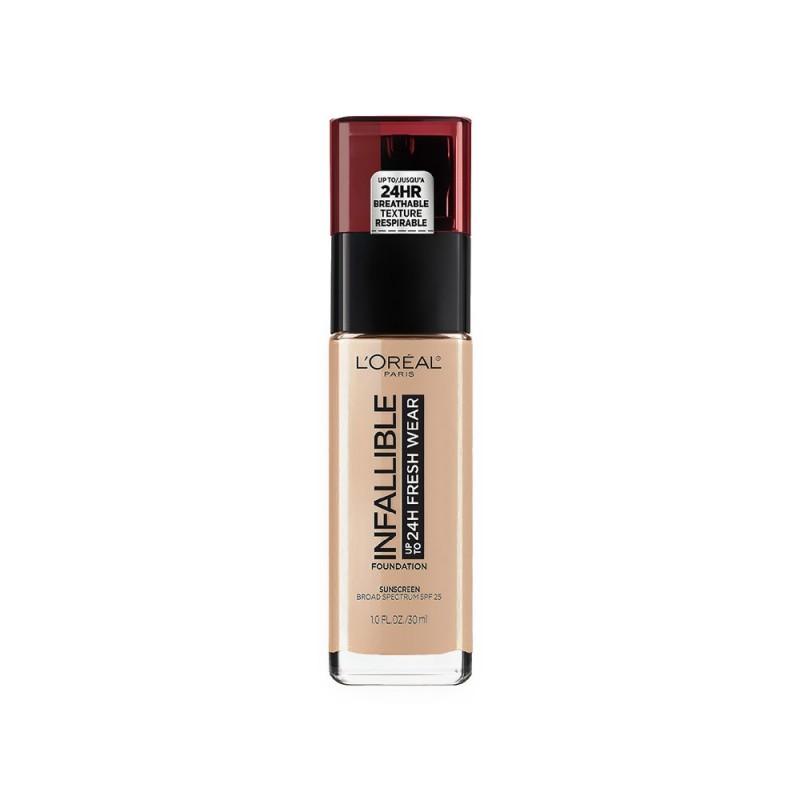 L'Oréal Infallible 24h Fresh Wear Foundation 30ml (220 Sable/Sand)