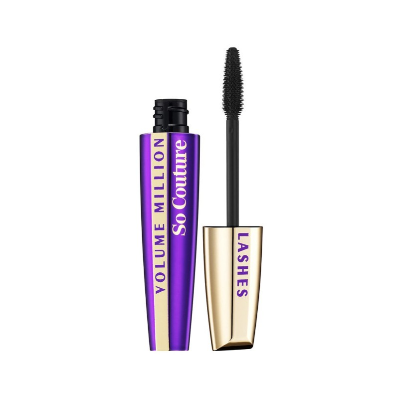 L'Oreal Mascara Volume Million Lashes So Couture- Black