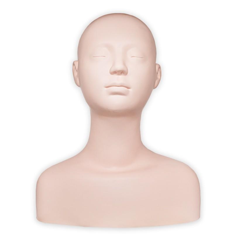 Practice mannequin head with shoulders