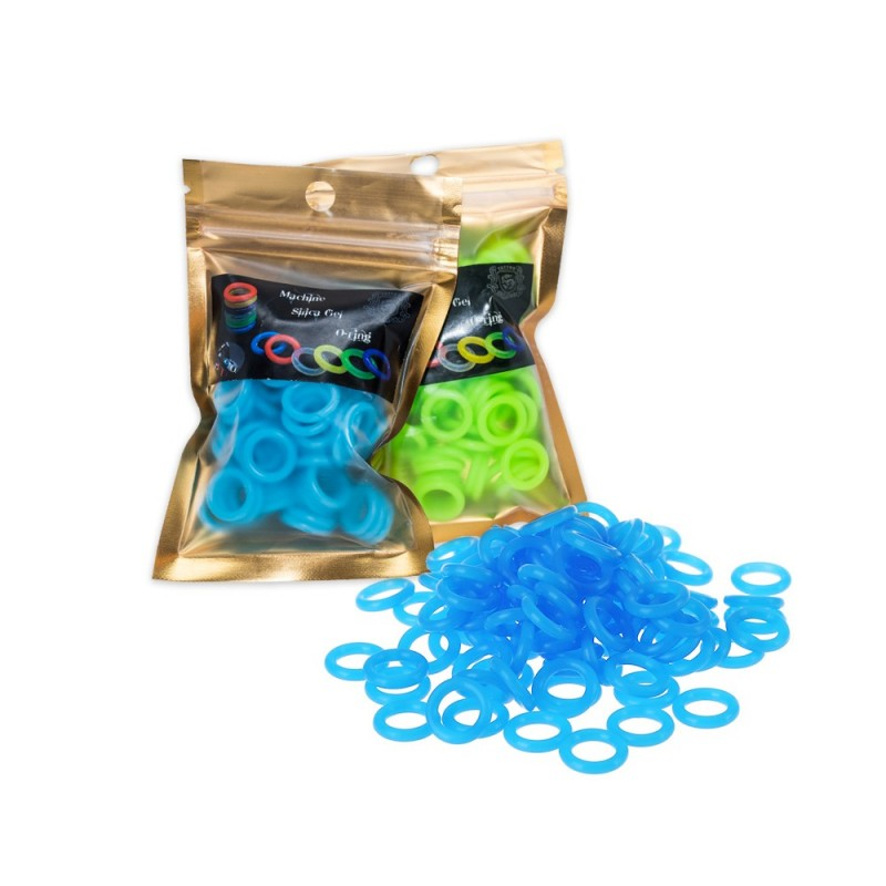 Machine silicone o-rings 100 pcs.