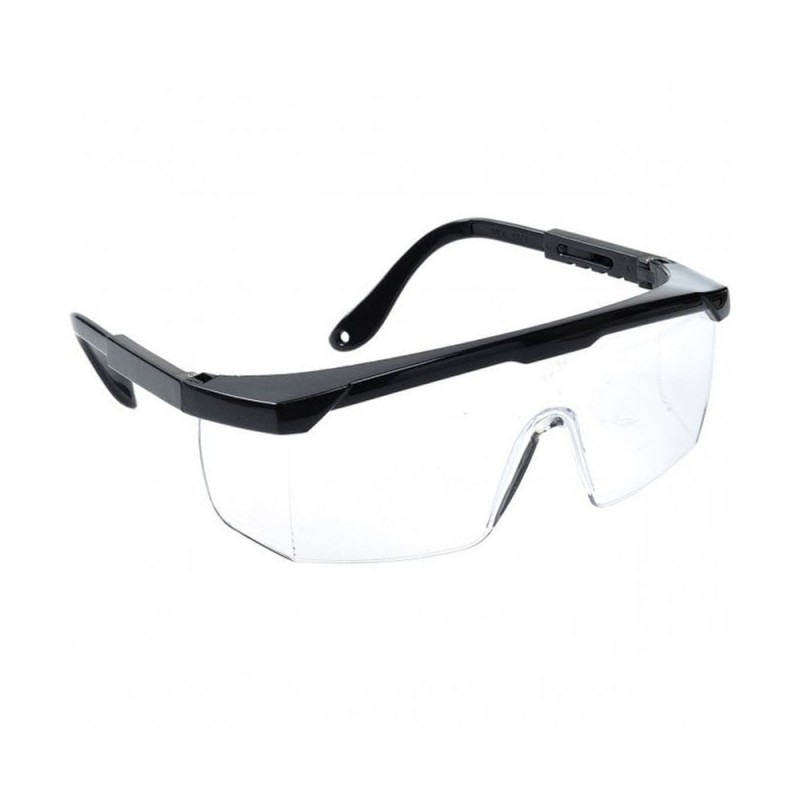 Classic safety glasses transparent 1pcs.