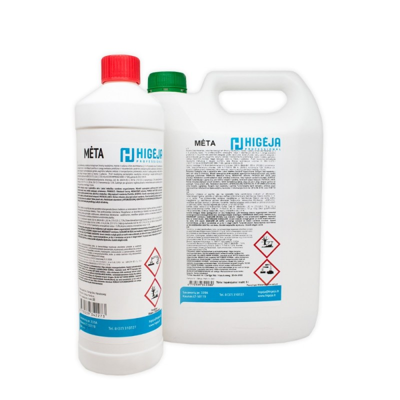 Surface disinfectant MĖTA (1l / 5l.)