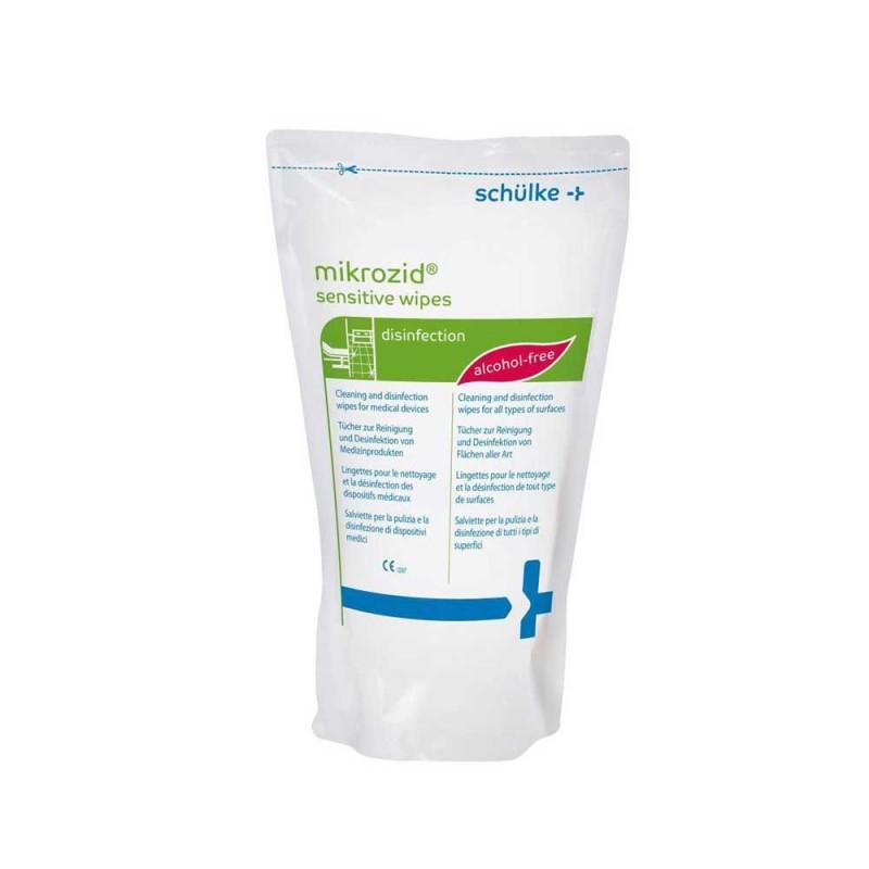 Mikrozid AF Jumbo sensitive wipes (refill 200 sheet/box)