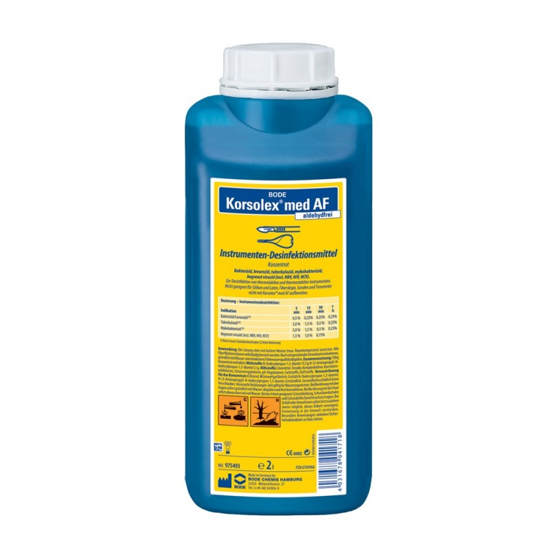 Disinfection for instruments Korsolex med AF, 2l.