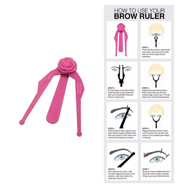 Eyebrow ruler / divider 1pcs.