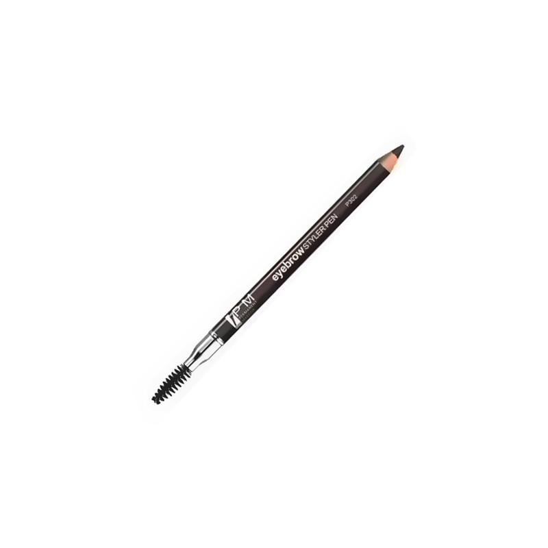 Eyebrow pencil with brush 1pcs.