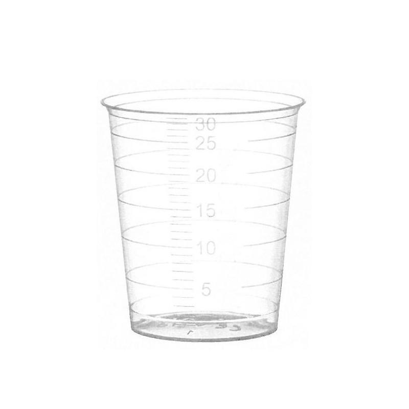 Disposable Medicine Cups 30ml. (80pcs.)