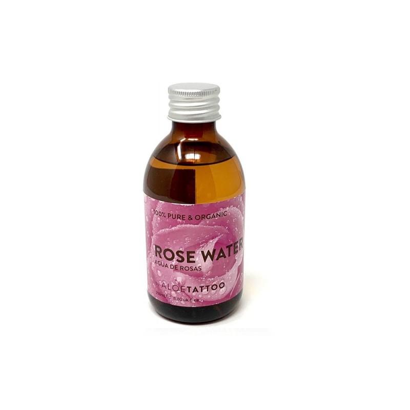 Aloe Rose Water 100% Pure and Organic 250ml.