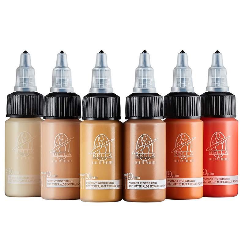 BELLA Nano Pigments Yellow Series Correctors (20ml.)