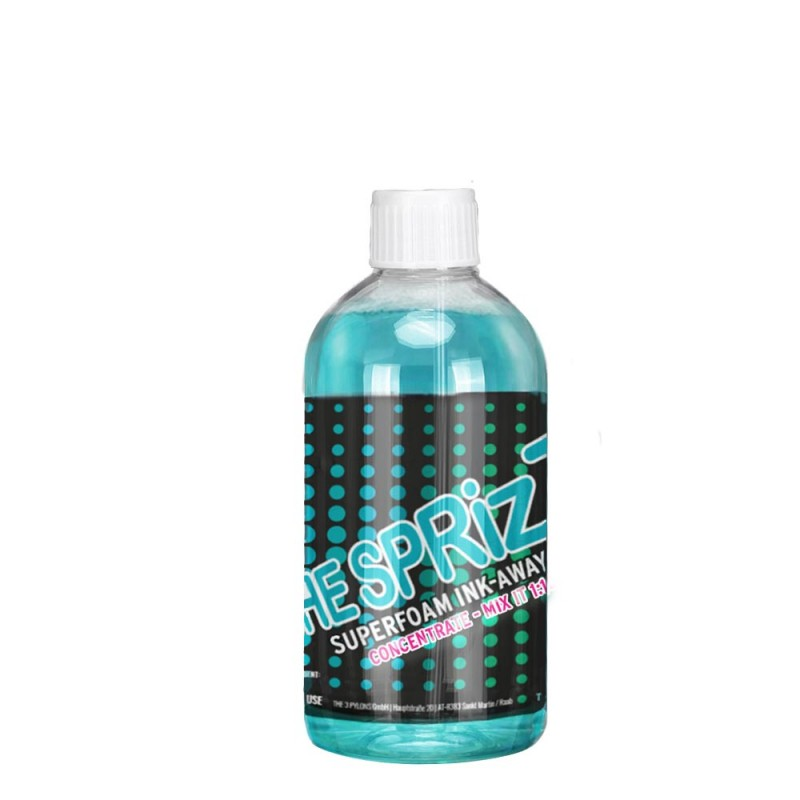 The Sprizz Superfoam Ink-Away CONCENTRATE