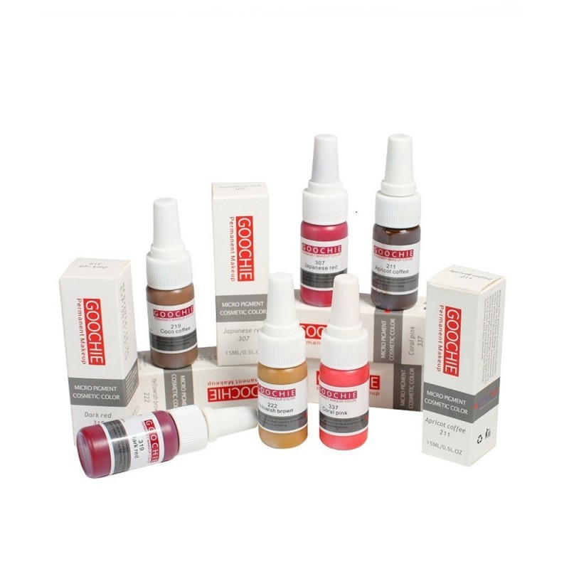Goochie lip pigments (Micro Pigment Cosmetic Color) 15ml.