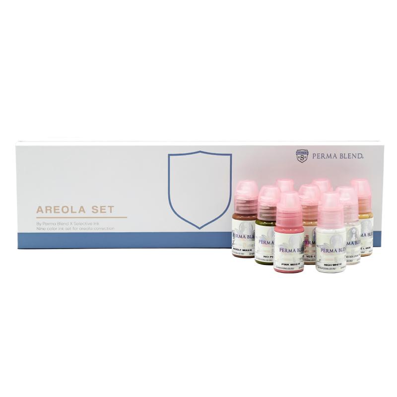 Perma Blend areola pigments set 8x30ml.