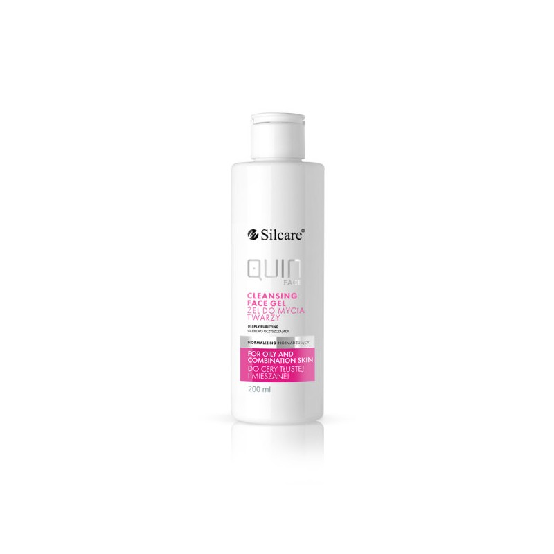 Silcare QUIN Face Normalizing Cleansing Gel (200ml)