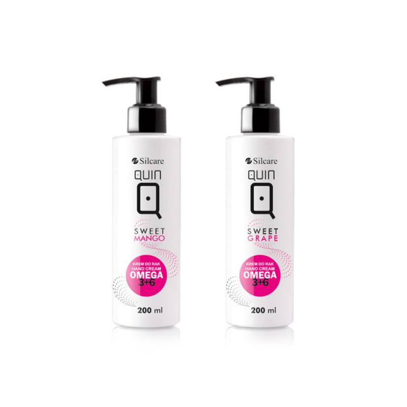 Silcare Hand Cream QUIN OMEGA 3+6 (200ml)