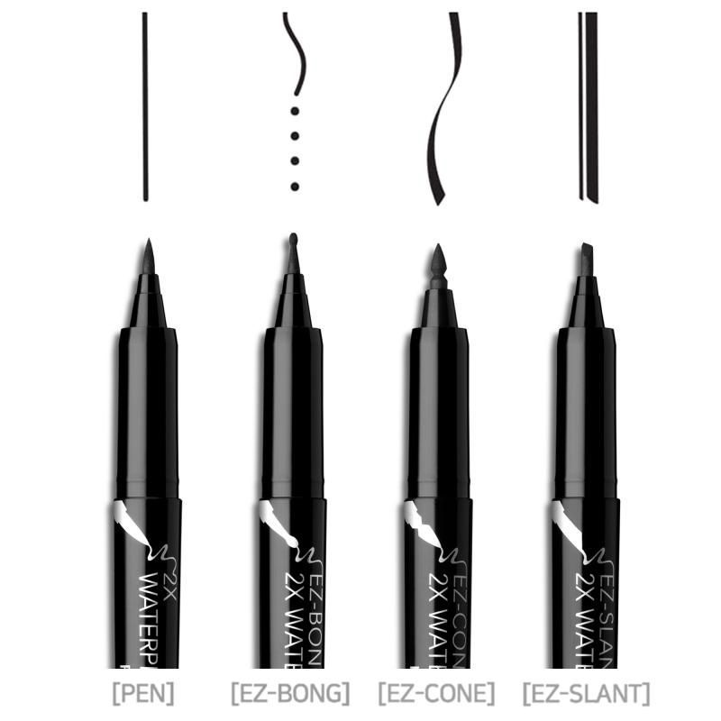 Passioncat 2x Waterproof Eyeliner (Black/Brown)
