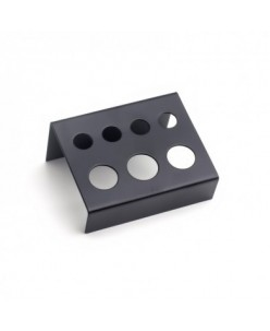 Black Metal caps holder 7 holes
