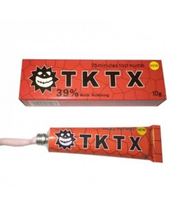 TKTX RED 39% Tattoo Anesthetic Cream (10 g.)