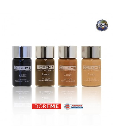 DOREME Permanent Makeup pigment (2SHOT COLORS - Microblading)