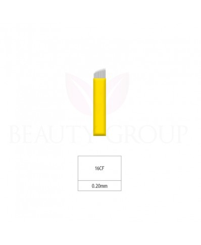 Biomaser Microblading 16 CF needle (Super Sharp- 0,20mm) 1 pcs.