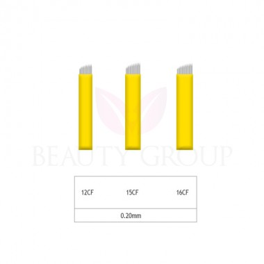 Microblading 12-15-16 CF needle 0,20mm (1pcs.)