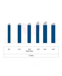 Microblading 9-11-12-14-16 CF needle- 0,18mm (1 pcs.)