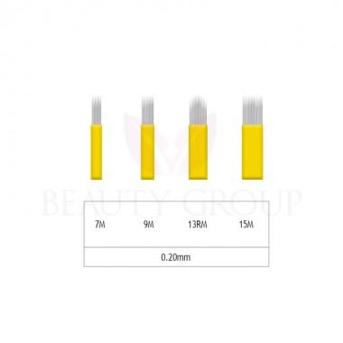 Microblading 7-9-15М/ 13RM shadow needle- 0,20 mm (1 pcs.)
