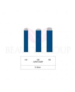 Microblading 14-18 U needle- 0,18mm (1 pcs.)
