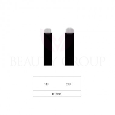 Microblading 18-21 U needle- 0,18mm (1pcs.)