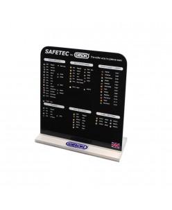 Caflon Safetec Display Board