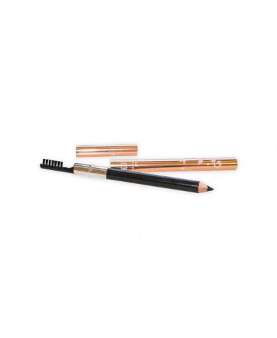 Eyebrow Pencil With Brush (black)