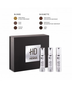 CC Brow HD Premium henna kit (Blonde / Brunette)