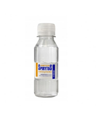 Cosmetic skin alcohol solution 110ml.