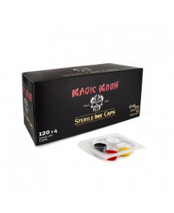 Magic Moon Sterile Ink Caps, 120 x 4 Caps