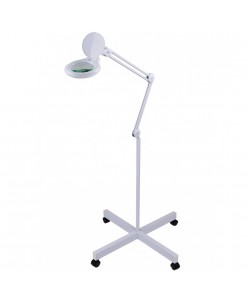 Magnifier lamp with stand