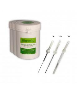 Biotouch Mosaic Machine 1-3 Prong ROUND / 3 Prong FLAT Needles 1pcs.