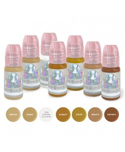Perma Blend Blondes Eyebrows Set 7 x 15ml.