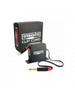 Retractable clip cord, 1.8m (Black / Grey)